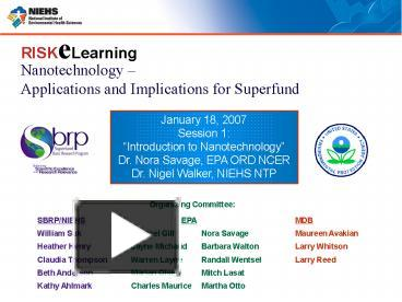 PPT – Nanotechnology PowerPoint presentation | free to