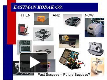 PPT – EASTMAN KODAK CO  PowerPoint presentation | free to