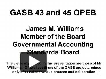 an analysis of the gasb passed statement number 34 The objective of the management's discussion and analysis gasb statement number 63 and net positionamended statement number 34.