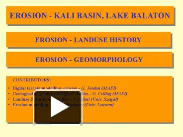 Ppt Geology Powerpoint Presentation Free To Download