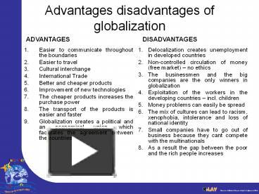 benefits of globalization cemex essay What benefits have cemex and the other global competitors in cement derived  from globalization more broadly, how can cross-border.