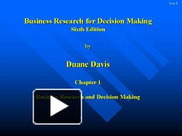 business research for decision making Six different types of business research to find your leads decision-making is a crucial aspect of any business venture a business owner can make firm decisions and stand by them, only when he is well aware of the surroundings of his marketplace.