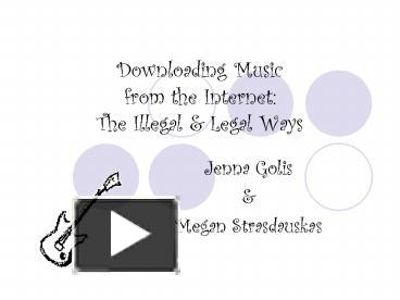 an essay on downloading music on the internet