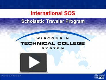 PPT – International SOS PowerPoint presentation | free to