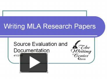 mla research paper test Citations, research the citation game 20 rounds of acs, apa, chicago (note) and mla create your own citation styles: acs apa chicago (note) mla.