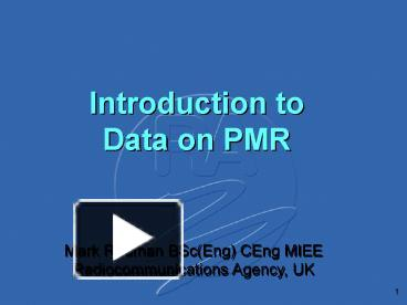 introduction to pmr