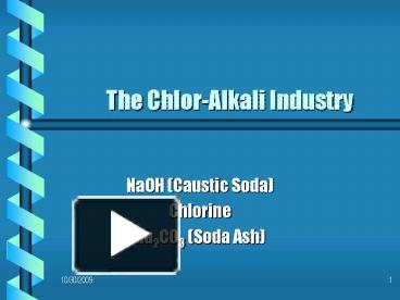 the chloralkali industry The us ngo healthy building network (hbn) has warned that the continued use of mercury and asbestos in the supply chain of polyvinyl.
