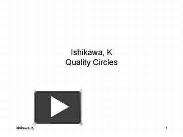 Ppt ishikawa k quality circles powerpoint presentation free to ppt ishikawa k quality circles powerpoint presentation free to view id 144223 ntmzm ccuart Images