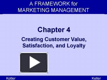 how can companies deliver customer value satisfaction and loyalty as a marketer how might you measur