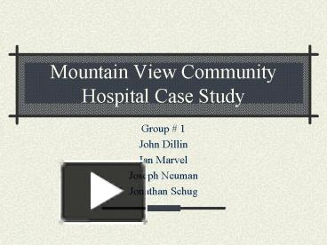 community general hospital case study Case studies training webinars pricing sign up sign in sign in free account en healthcare opinion survey template hospital and health care opinion survey about the quality how many years have you lived in this community.