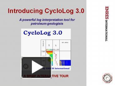 cyclolog software