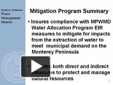 ccm measures to allocate and mitigate