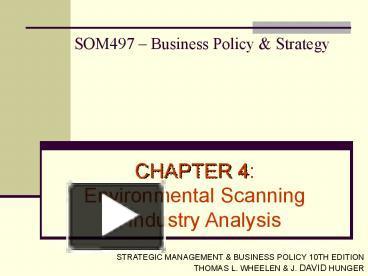 mcdonalds strategy formulation