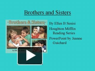 comparison essay my two brothers To whom we share important similarities but differ in our own significant ways me-loving person,spender, many friends,talker brother-very academic and has two college degrees,harsh to.