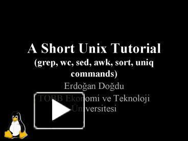 UNIX / LINUX Tutorial - tutorialspoint.com