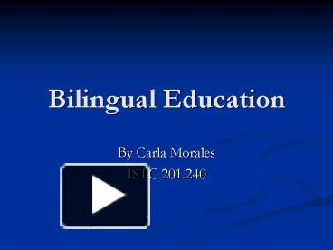 Ppt bilingual education powerpoint presentation free to view ppt bilingual education powerpoint presentation free to view id 17733d mzeyy toneelgroepblik Gallery