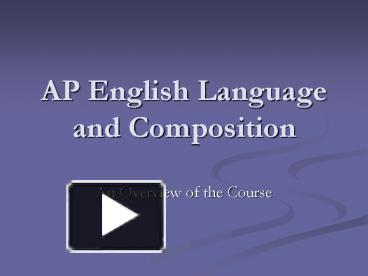 Ap English Language And Composition Synthesis Essay   Clasifiedad  Com