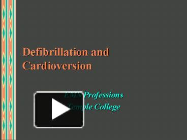Defibrillation for ventricular fibrillation | jacc: journal of the.