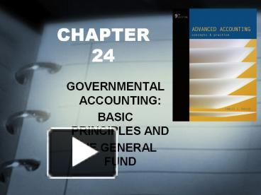 governmental accounting test bank chapter