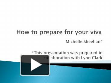 thesis preparation submission ppt download