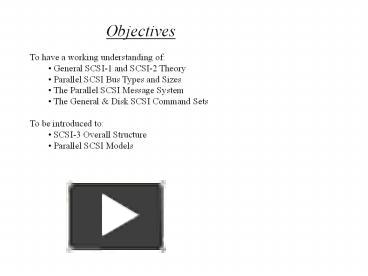 PPT – What is SCSI? PowerPoint presentation | free to download - id