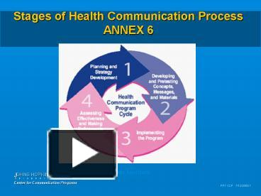 six stages of communication process six stages of communication by michael argyle michael argyle was a social psychologist he stated that interpersonal communication was a skill that had to be learned, just as you would learn to drive a car.