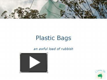 ppt – plastic bags powerpoint presentation | free to download - id, Powerpoint Plastic Bag Presentation Template, Presentation templates