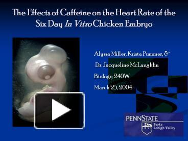 effects caffeine heart rate daphnia This lab was designed to show how caffeine affected the heart rate of daphnia after exposing them to different concentrations of caffeine for ten minutes caffeine is a stimulant, which, in humans, causes heart rates and blood pressure to increase.