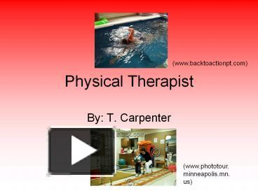 ppt � physical therapist powerpoint presentation free to
