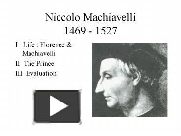 the concepts of virtu and fortuna in machiavellis the prince What role do the concepts of virtu and the prince owe much to virtu and fortuna as main concepts of virtu and fortuna play in machiavellis.