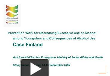 finland case essay