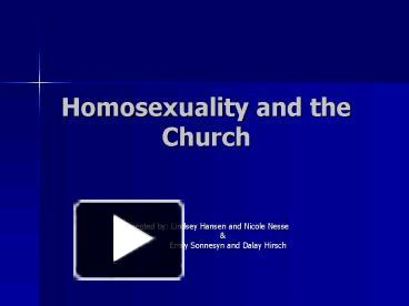 Concordance rates for homosexuality