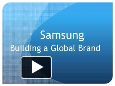 great samsung presentation template pictures >> samsung, Powerpoint templates