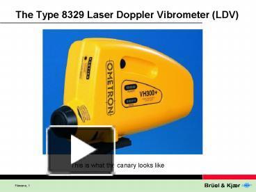 Speech measurement using laser doppler vibrometer.