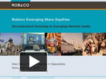 ppt robeco emerging stars equities powerpoint presentation free