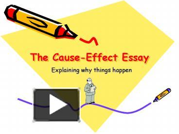 cause and effect of stress at work essay