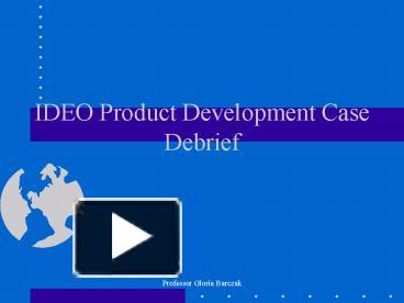 ideo product development case