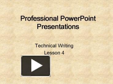 technical writing lessons Although the technical communication course is not a remedial course, i did what i could to teach the students better spelling and grammar they were asked to do a.