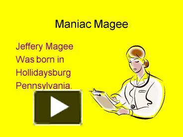 maniac magee book report