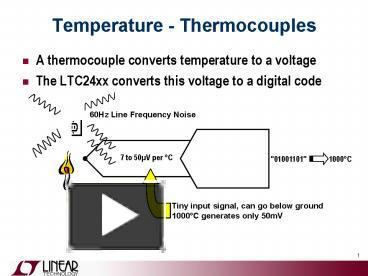 Ppt temperature thermocouples powerpoint presentation free to ppt temperature thermocouples powerpoint presentation free to view id 1d793b zdc1z ccuart Image collections