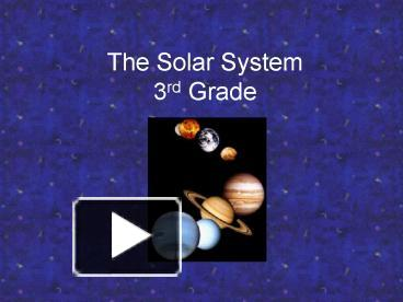 6th grade solar system powerpoints - photo #3