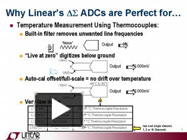 PPT – Temperature Measurement Using Thermocouples: PowerPoint