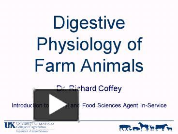 Free powerpoint templates unique peristalsis insureforall ppt digestive physiology of farm animals powerpoint presentation free to view id toneelgroepblik Gallery