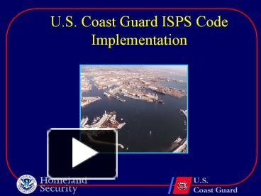 thesis on the isps code implementation Isps code msc/circ1104 implementation of solas chapter xi-2 and the isps code msc/circ1106 implementation of solas chapter xi-2 and the isps code to port.