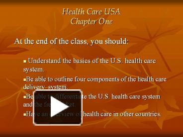 essays health care in the us