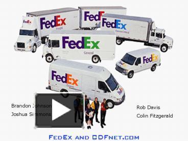 ppt – fedex powerpoint presentation | free to view - id: 20b8a-mwfkn, Presentation templates