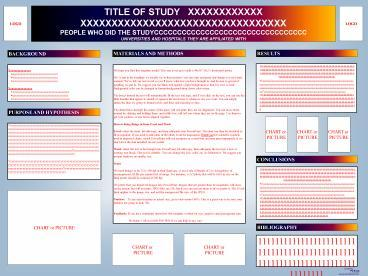 Ppt 48x36 poster template powerpoint presentation free for Powerpoint poster templates 48x36
