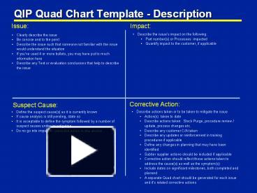 Ppt qip quad chart template description powerpoint presentation ppt qip quad chart template description powerpoint presentation free to download id 23cb15 mwy1m toneelgroepblik Gallery