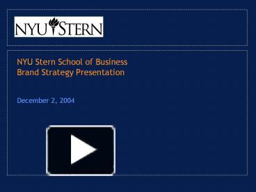 ppt – nyu stern school of business powerpoint presentation | free, Modern powerpoint