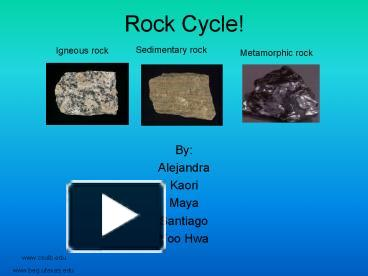 presentation about rocks Pete's powerpoint station is your destination for free powerpoint presentations for kids and teachers about rocks, and so much more.